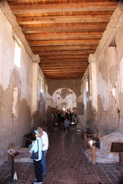 Sanctuary, San Juan Mission, Tumacácori National Historical Park.