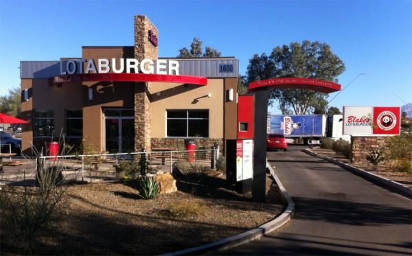An über-modern rendition of New Mexico's beloved Blake's Lotaburger in Tucson, AZ.
