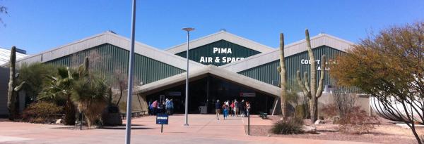 Entrance, PIMA Air & Space Museum.