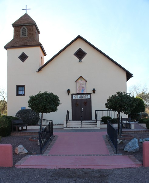 St.  Ann's, adjacent to the Tubac presidio park, was a mission in Anza's day, and the location where Anza and his expedition party were blessed by priests before they set out for the West Coast.
